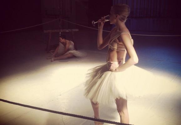 Angry ballerinas